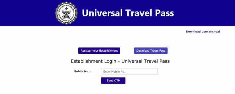 Universal Travel Pass For Train Ticket